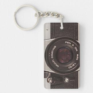 80's camera keychain