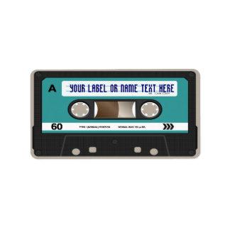 80s casete retro Mixtape personalizado Etiquetas De Dirección