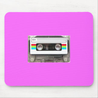80s casette tape mouse pad