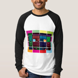 80's Cassette Color Blocks T-Shirt