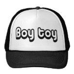 80's catch phase boy toy on a hat