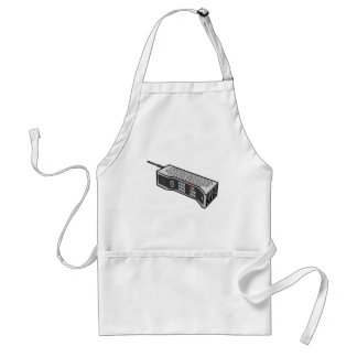 80s Cellphone with Text Apron