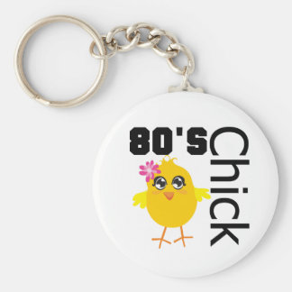 80's Chick Key Chains