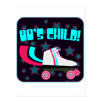 80's Child Postcard