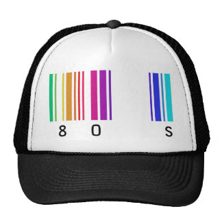 80s color design! trucker hat