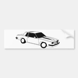 80's Cutlass Oldsmobile Car Bumper Sticker