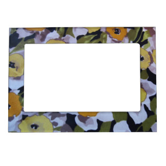 80s Daffodils Magnetic Frame