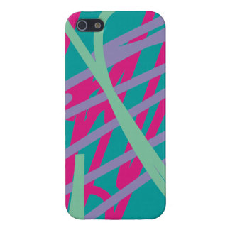 80s eighties vintage colors medley art girl rock iPhone SE/5/5s cover
