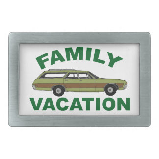 80s Family Vacation Belt Buckle