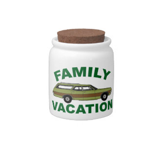 80s Family Vacation Candy Jar