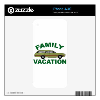 80s Family Vacation iPhone 4 Skins