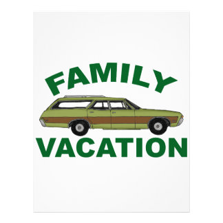 80s Family Vacation Letterhead