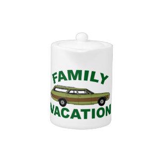 80s Family Vacation Teapot
