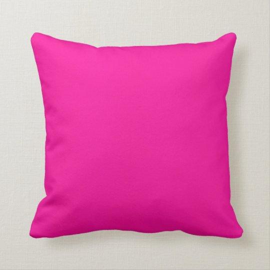 80's Fushia Throw Pillow