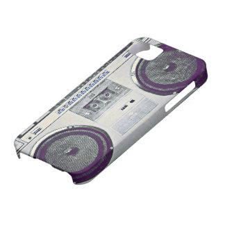 80's ghetto blaster iPhone SE/5/5s case