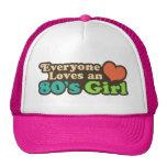 80's Girl hats