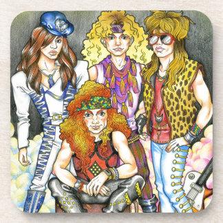 80s Hairband - 80s Retro Coaster