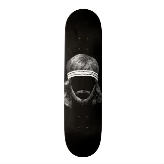 80's hairstyle skateboard deck