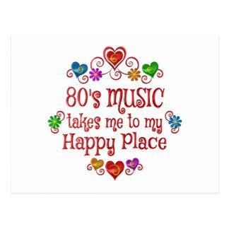 80s Happy Place Postcard