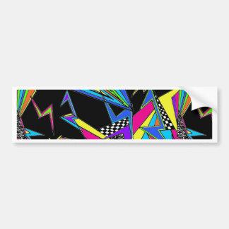 80s Inspired Bumper Sticker