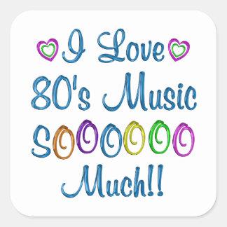 80s Love So Much Sticker