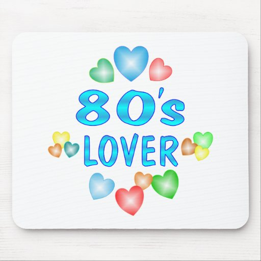 80s Lover Mouse Pad