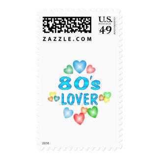 80s Lover Postage Stamp