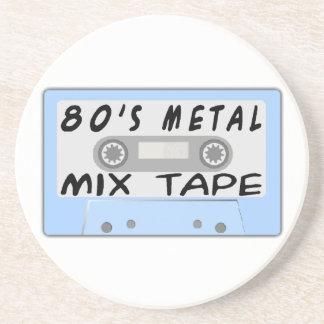 80s Metal Mix Tape Cassette Coaster