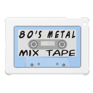 80s Metal Mix Tape Cassette Cover For The iPad Mini
