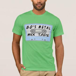 80s Metal Mix Tape Cassette T-Shirt
