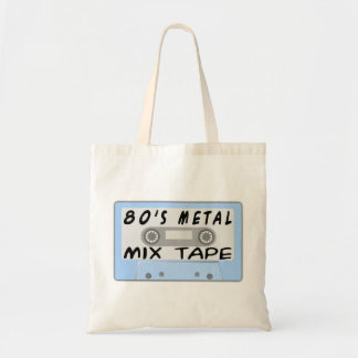 80s Metal Mix Tape Cassette Tote Bag