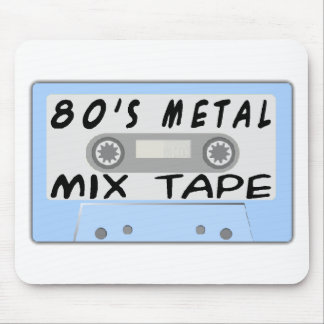 80s Metal Mix Tape Mouse Pad