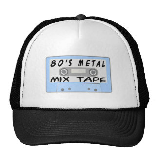 80s Metal Mix Tape Trucker Hat