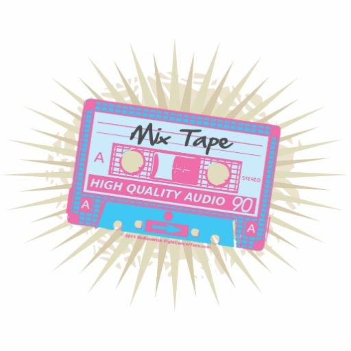 80's Mix Tape Photo Cutouts