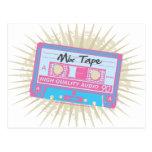 80's Mix Tape Postcard