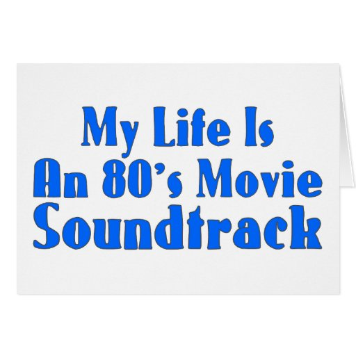 80's Movie Soundtrack Cards