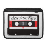 80s Music Mix Tape Cassette MacBook Sleeves