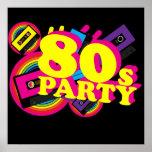 80s Partty Print