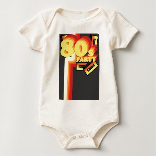 80s Party Baby Bodysuit