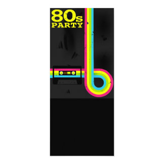 80s party invites