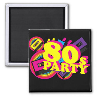 80s Party Magnet