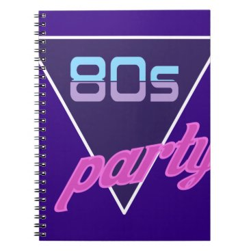 gridly 80s Party Notebook