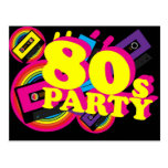 80s Party Post Card