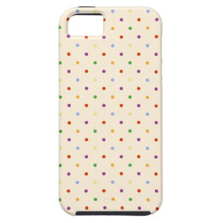 80s petite rainbow girly cute polka dots pattern iPhone SE/5/5s case
