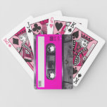 80's Pink Label Cassette Bicycle Playing Cards