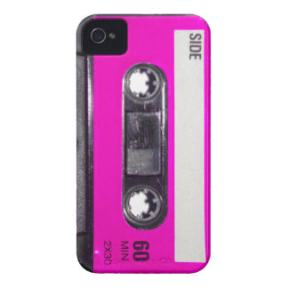 80's Pink Label Cassette Case-Mate iPhone 4 Cases