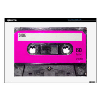 80's Pink Label Cassette Decals For Laptops