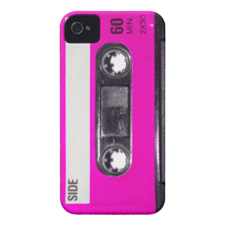 80's Pink Label Cassette iPhone 4 Case-Mate Case