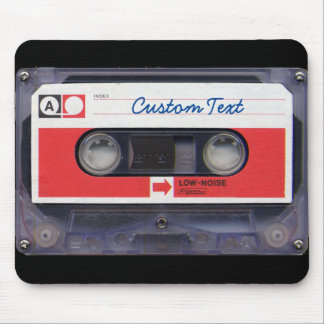 80s Pop Culture Personalized Cassette Tape Mouse Pad