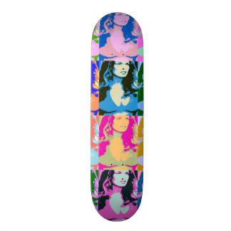 ~80's Pop Pin Up~ SKATE DECK, CUSTOMIZE IT! Skateboard